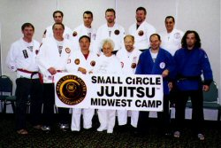 The instructors at the camp